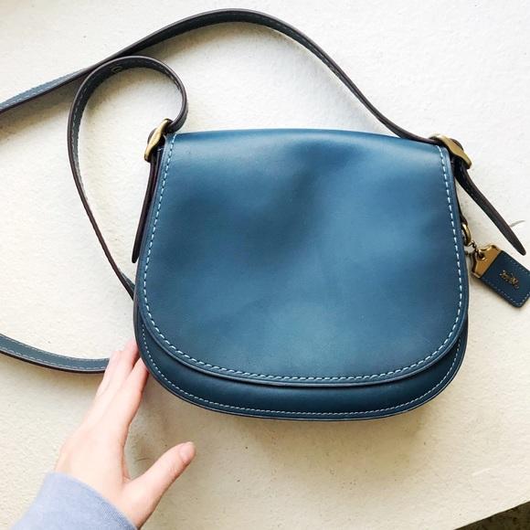 6a17853fae43 Coach Handbags - Coach Saddle Bag  23